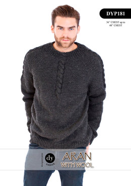Jumper in DY Choice Aran With Wool - DYP181