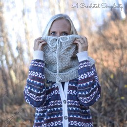 Timeless Cabled Cowl