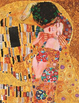 Diamond Dotz The Kiss (Klimt) Diamond Painting Kit