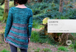 Lignite Jumper by Carol Feller - Knitting Pattern For Women in The Yarn Collective