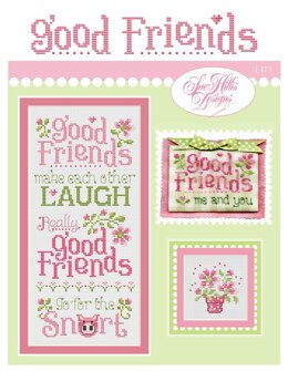 Sue Hillis Designs Good Friends - L473 - Leaflet