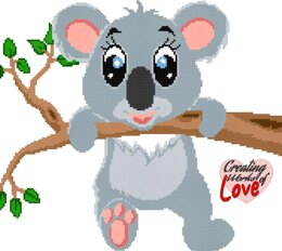 Hanging Koala Stitch Graph