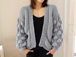 Strickanleitung - EASY - BUBBLE - CARDIGAN - No.194