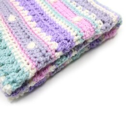 Bobble Stripe Blanket