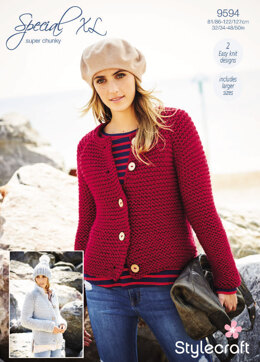 Cardigans in Stylecraft Special Super Chunky - 9594 - Downloadable PDF