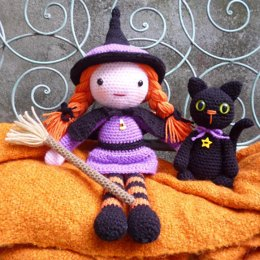 Morgana the Witch and Soots the Cat