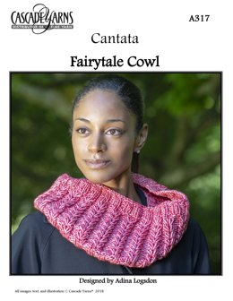 Fairytale Cowl in Cascade Yarns Cantata - A317 - Downloadable PDF