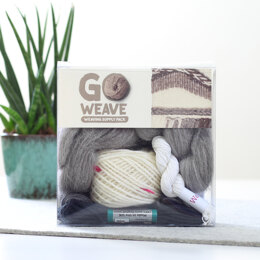 Hawthorn Handmade Monochrome Weaving Supply Kit