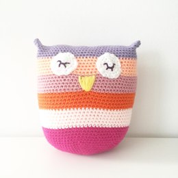 April the Owl Pillow