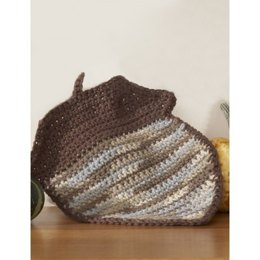 Acorn Dishcloth in Lily Sugar 'n Cream Ombre