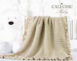 Eleanor Crochet Baby Blanket Pattern #154