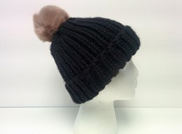 1-Hour Knit Ribbed Beanie