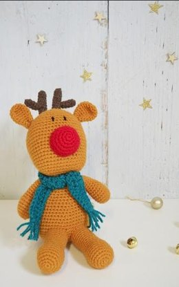 Crochet Reindeer Toy