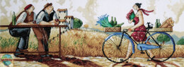 Design Works The Delivery Cross Stitch Kit - Multi