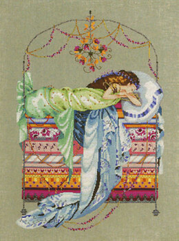 Mirabilia MD123 - Sleeping Princess Chart - 998823 -  Leaflet