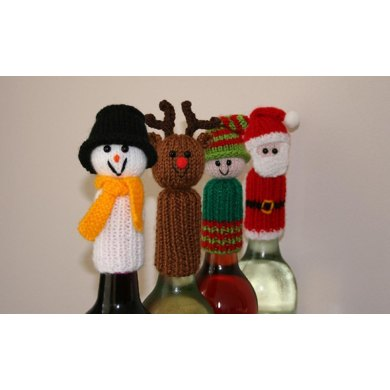 Tic Tac Toys/Wine Bottle Toppers - Christmas