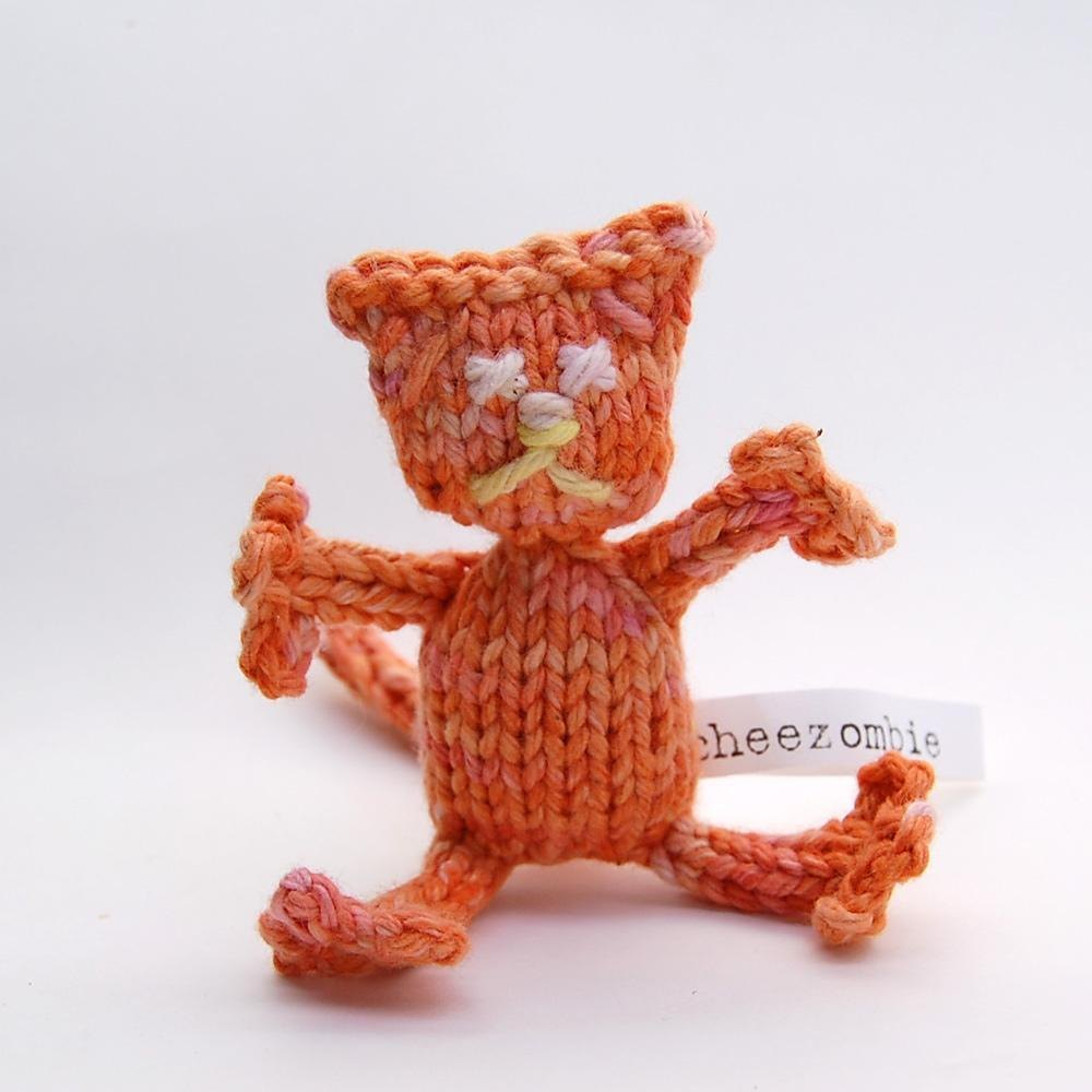 Zombie Knitting Pattern : Zombie kitty knitting pattern by cheezombie