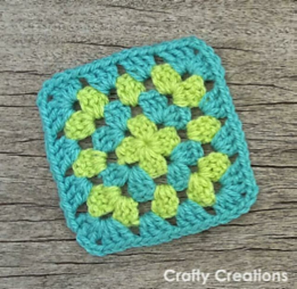 Basic Granny Square Crochet Pattern By Crafty Creations