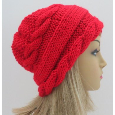 Arabella Two - Hat with Cables