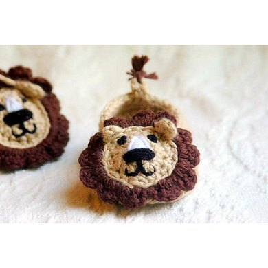Baby Lion House Slippers