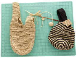 Japanese Knot Bag in Universal Yarn Yashi - Downloadable PDF