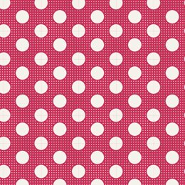 Tilda Medium Dots - Red
