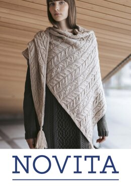 Edith Shawl in Novita Venla - Downloadable PDF