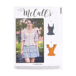 McCall's Misses' Tops M8094 - Sewing Pattern