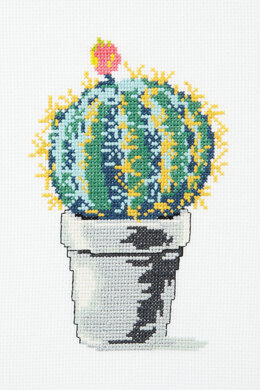 Globe Cactus in DMC - PAT0099 - Downloadable PDF