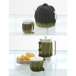 Coffee Tea or Me Crochet Sets in Patons Decor