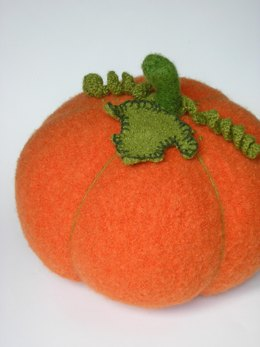 Felted Woolly Pumpkin