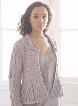 Romy Cardigan in Debbie Bliss Cashmerino Aran - CMC10