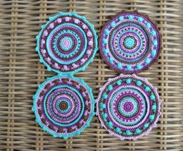 Mandala Cotton Coaster