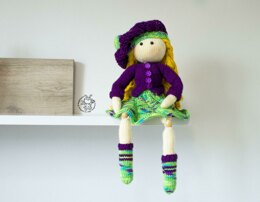 Beads jointed doll Janet