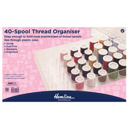 Hemline 40 Spool Thread Organiser