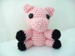 Amigurumi Cliveton the Tiny Pig