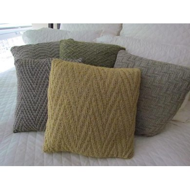 Chevron Study Pillow Collection #1
