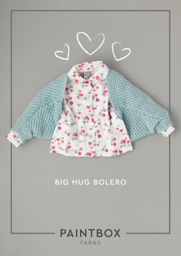 Big Hug Bolero in Paintbox Yarns Simply Aran - Downloadable PDF