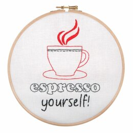 Anchor Espresso Yourself Embroidery Kit - AHP505