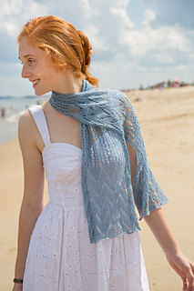 Ethereal Scarf in Classic Elite Yarns Silky Alpaca Lace
