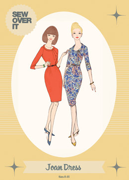 Sew Over It Joan Dress - Sewing Pattern