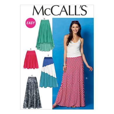 McCall's Misses' Skirts M6966 - Sewing Pattern