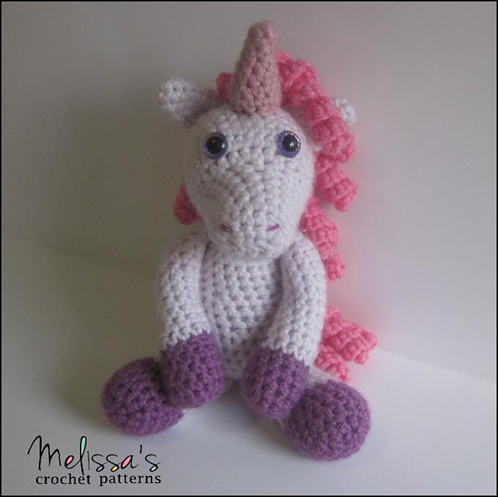 Annabelle The Unicorn Crochet Pattern By Melissa S Crochet