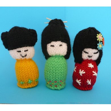 Japanese Ladies Amigurumi