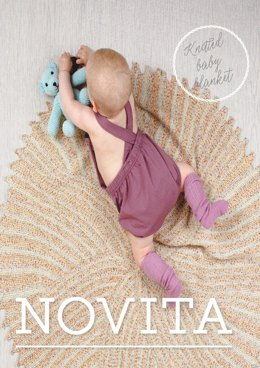 Baby Merino Dream Blanket in Novita Baby Merino Dream - 20 - Downloadable PDF