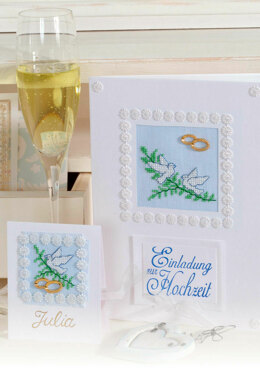 Wedding Celebrations -  Lovely Cards in Anchor - Downloadable PDF