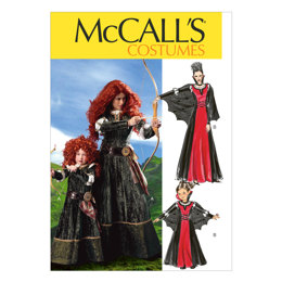 McCall's Misses'/Children's/Girls' Costumes M6817 - Sewing Pattern
