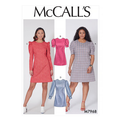 McCall's Misses' and Women's Dresses M7968 - Sewing Pattern
