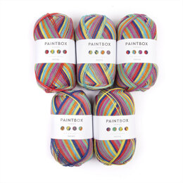 Paintbox Yarns Socks 5 Ball Value Pack