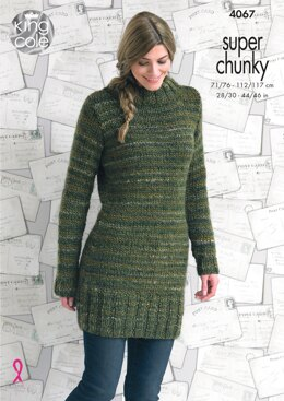 Sweaters in King Cole Super Chunky - 4067